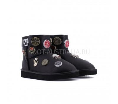 UGG & Jimmy Choo Coco Chanel 5 Black - Черные